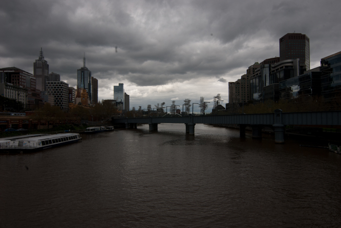 Year Long Project - East - Midday - Dark Clouds