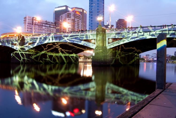 White Night 11 - Princes Bridge