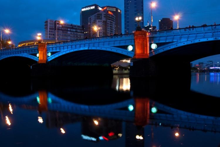 White Night 12 - Princes Bridge
