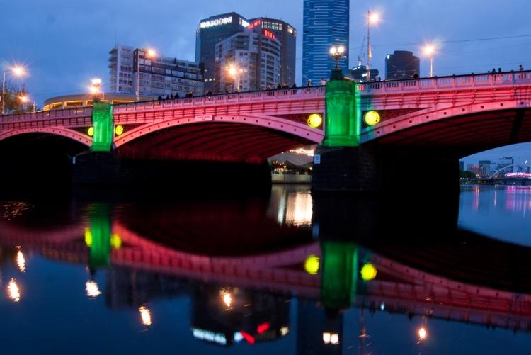 White Night 14 - Princes Bridge