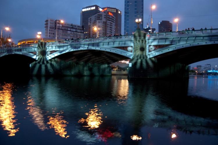White Night 15 - Princes Bridge