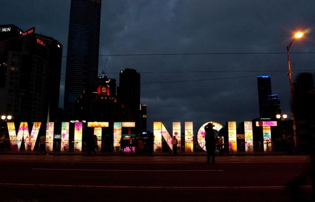 Whight Night 16 - Princes Bridge